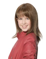 Ashley Small Human Hair Children's Wig, Dimples Bronze Collection - image aimee-bronze-wig-190x243 on https://purewigs.com