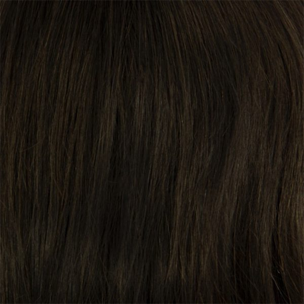 Ashley Small Human Hair Children's Wig, Dimples Bronze Collection - image Noir-1B on https://purewigs.com
