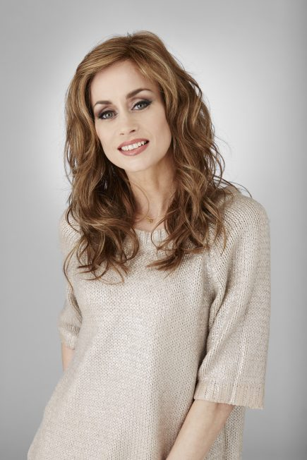 Transform Wig Natural Image Inspired Collection - image Transform-Caramel-Glow-024-435x652 on https://purewigs.com