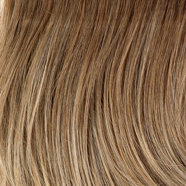 Pizzazz Wig Natural Image - image G19-Praline-Mist on https://purewigs.com