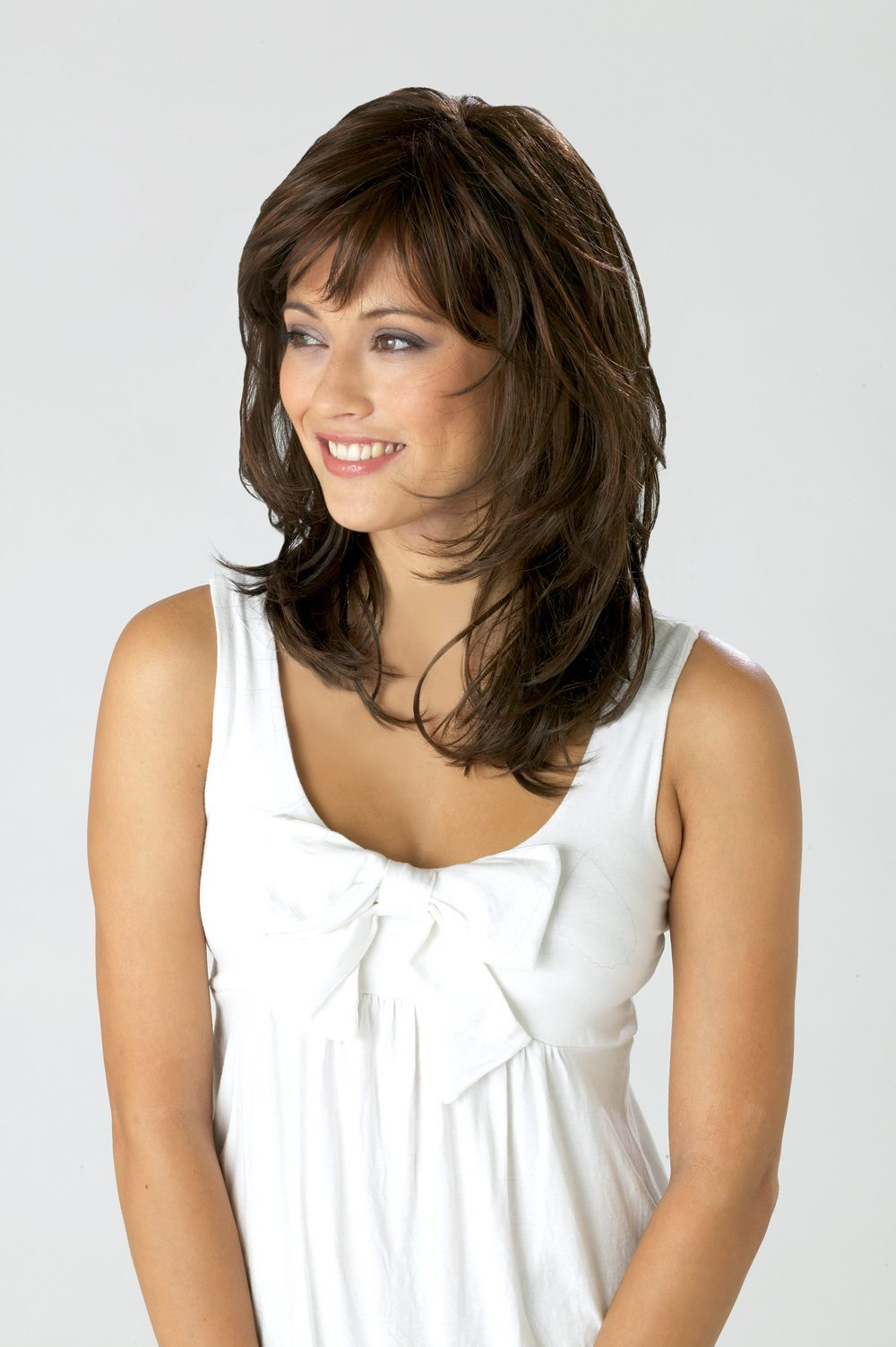 Affair Wig Ellen Wille Hair Society Collection - image Crystal-Chocolate-Copper-FRONT-main on https://purewigs.com
