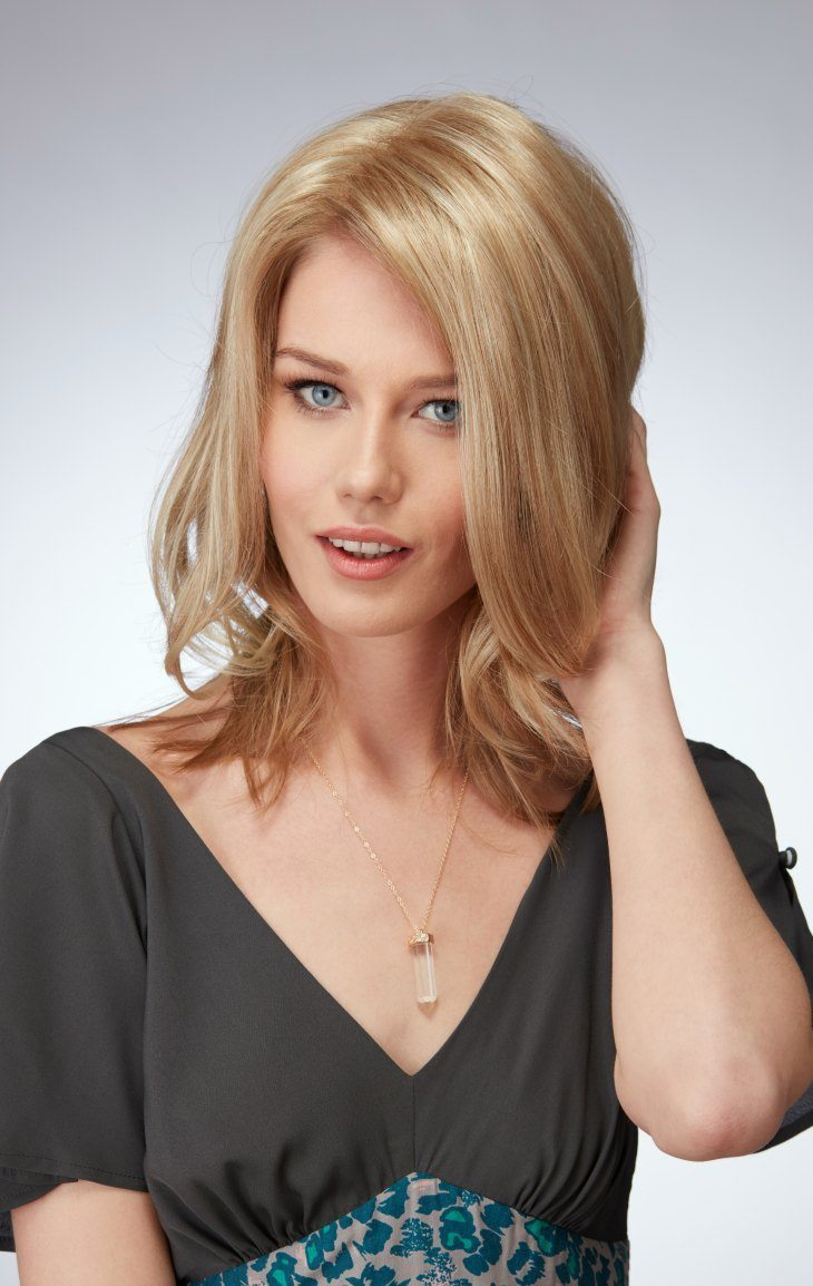 Mid Length Top Piece Natural Image - image mltp on https://purewigs.com